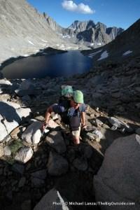 Alpine Col route, John Muir Wilderness.