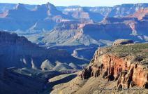 Grandview Trail view, Grand Canyon