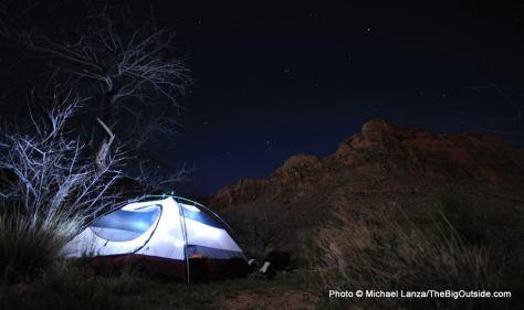 Cottonwood Creek camp, Grand Canyon