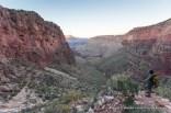 Canyon on east side of Horseshoe Mesa.