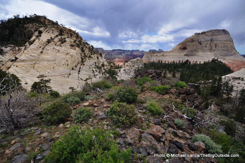 Northgate Peaks overlook, Zion.