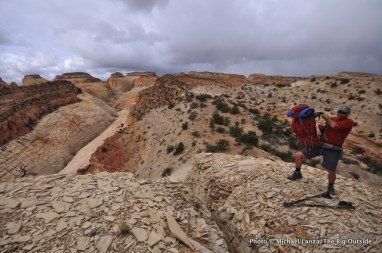 Second day, Beehive Traverse.