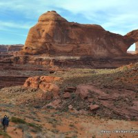 Stevens Arch, above Coyote Gulch.