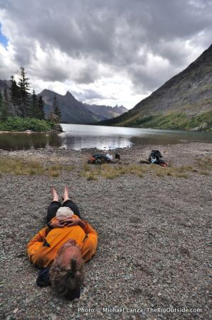 Lake Elizabeth, Glacier National Park.