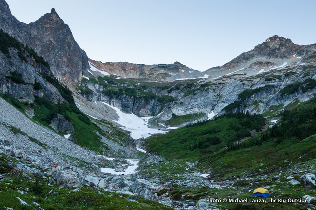 Phelps Basin, Glacier Peak Wilderness.