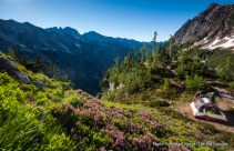 Above Spider Meadow, Glacier Peak Wilderness