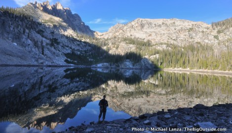 Bench Lakes, Sawtooth Wilderness, Idaho.