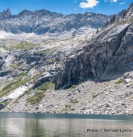 Hamilton Lakes, High Sierra Trail, Sequoia National Park.