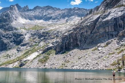 Hamilton Lakes, High Sierra Trail, Sequoia National Park.