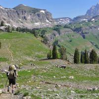 Death Canyon Shelf, Teton Crest Trail.