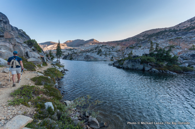 Fontanillis Lake, Desolation Wilderness, California.
