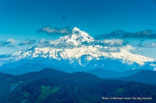 Mount Hood, from Larch Mountain.