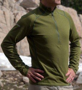 Patagonia Capilene 2 Lightweight Zip-Neck.