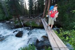 Trail 680, Big Boulder Creek, White Cloud Mountains, Idaho.