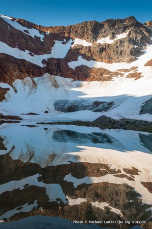 Lyman Glacier, Upper Lyman Lakes.