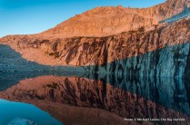Alpenglow at Precipice Lake, Sequoia N.P.