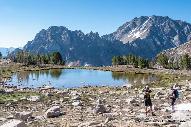 Shallow Lake, White Cloud Mountains.