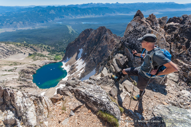 Thompson Peak, Sawtooth Mountains, Idaho.
