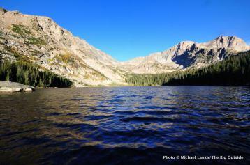 Thunder Lake, Rocky Mountain National Park.