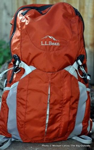 L.L. Bean Day Trekker 25 with Boa