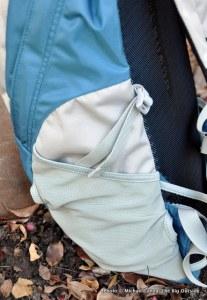 Osprey Zip 25 side pocket