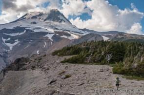 Timberline Trail on the east side of Mount Hood, Oregon.