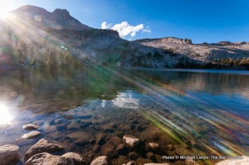 May Lake, Yosemite National Park, California.