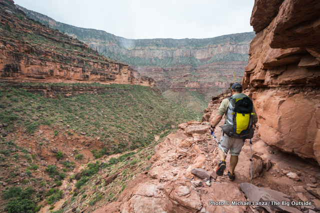 David Ports backpacking the rugged and remote Royal Arch Loop in the Grand Canyon.