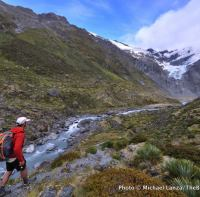 Dart River, Cascade Saddle route, Mount Aspiring National Park, New Zealand.