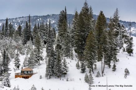 Banner Ridge yurt, Boise National Forest, Idaho.