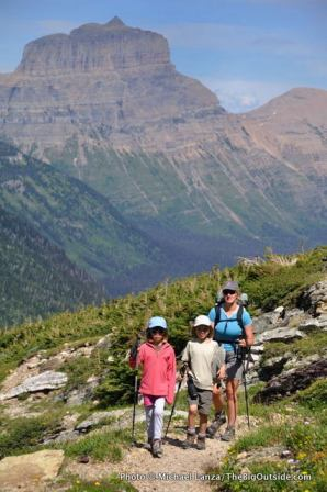 Gunsight Pass Trail, Glacier National Park.