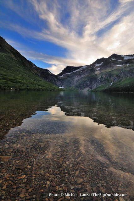 Gunsight Lake, Glacier National Park.