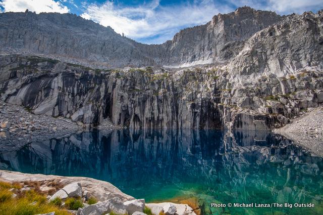 Precipice Lake in Sequoia National Park.
