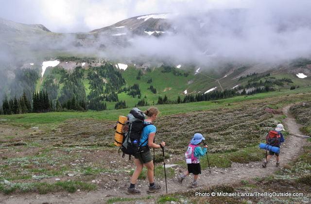 Backpacking the Wonderland Trail, Mount Rainier National Park.