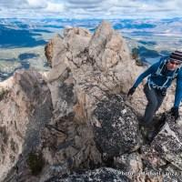 McGown Peak, Sawtooth Mountains, Idaho.