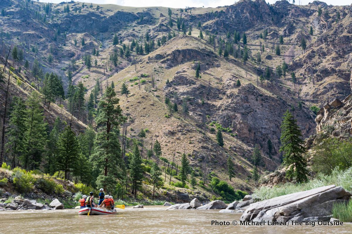 Middle Fork Salmon River, Idaho.
