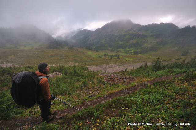 High Divide Trail, Olympic National Park.