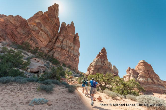 Chesler Park Trail, Needles District, Canyonlands National Park, Utah.