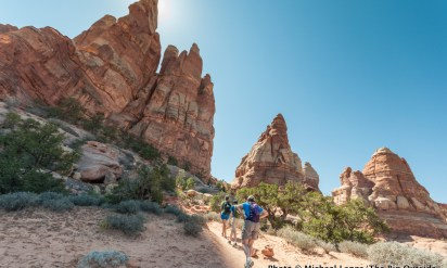No Straight Lines: Backpacking and Hiking in Canyonlands and Arches National Parks