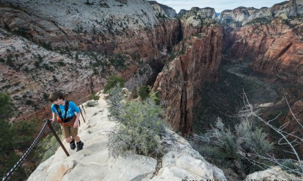 One Photo, One Story: A Family Hike Up Angels Landing in Zion National Park