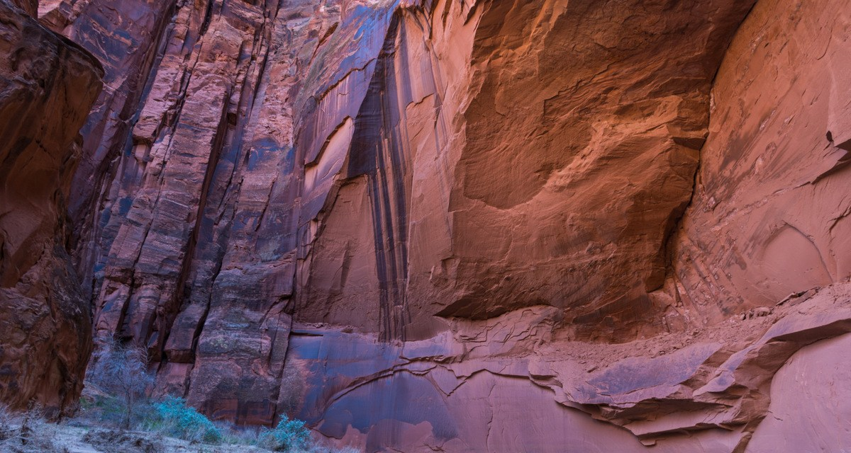 One Photo, One Story: Backpacking Paria Canyon