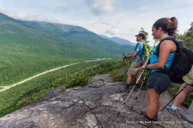 High above Pinkham Notch on the Wildcat Ridge Trail.