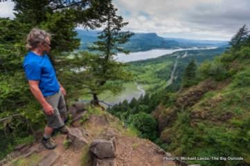 Hiking Rock of Ages Ridge, Columbia Gorge.