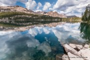 Imogene Lake, Sawtooth Mountains.