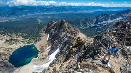 One Photo, One Story: Hiking Thompson Peak in Idaho's Sawtooth Mountains