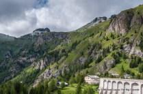 Looking at the Alta Via 2 above Rigufio Castiglioni.