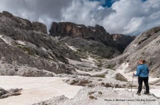 Alta Via 2 north of Rifugio Rosetta.