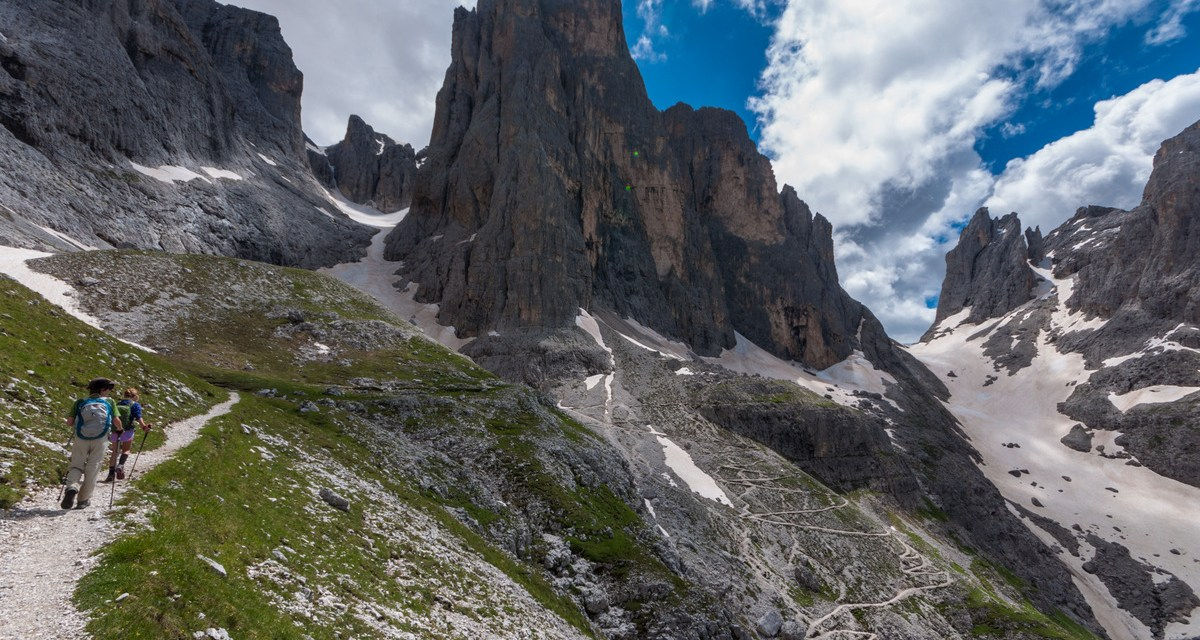 7bceb345968 'The World's Most Beautiful Trail:' Trekking the Alta Via 2 in Italy's  Dolomites. '