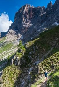 Trail 701 in Paneveggio-Pale di San Martino Nature Park.