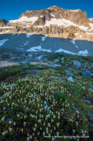 Upper Lyman Lakes, Glacier Peak Wilderness.